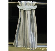 slip through dish towel