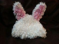 Loom Knit Bunny Hat Pattern