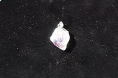 Amethyst  Pendant with Silver Foiling and Bail by FairyFresh, $25.00