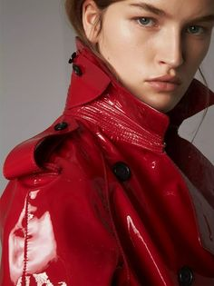 Trench Coats for Women Rain Slicker Womens, Burberry Trench Coat, Rain Jacket Women, Raincoats For Women, Rain Wear, Leather Jacket, Shops, Red Outfits, Online Portfolio