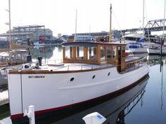Fully Restored Antique Classic Bridge Deck | Classic Yacht Association
