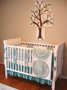 DIY nursery tree art | A Winding Road