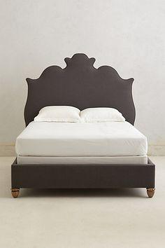 Regency Linen bed - anthropologie
