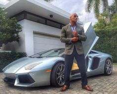 "Dwayne The Rock Johnson on the set of ""Ballers"" premieres in June 2015"
