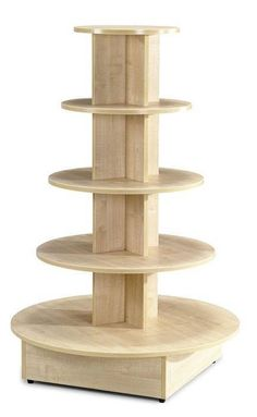 Wood Display Shelves - Foter