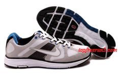 #topfreerun3 com Save Up To 71%,$59.34 Mens Nike LunarElite+ Gray Black White Shoes