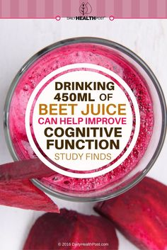 Beet juice may not be popular for its taste, but its health benefits are serious business, according to a recent study.
