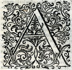 Letra A. Tipografía Tipography Lettering Initials Letter Letter Form, Alphabet Art, Adult Coloring Pages, Tangled, Doodles, Typography, Letters, Graphic Design, Granada