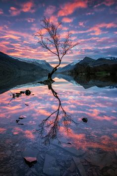 """Llyn Padarn Sunrise - I've now started a page on <a href=""""https://www.facebook.com/JohnOrmerodLandscapePhotography/timeline"""">facebook here</a> - if you like my images please follow me on there too. Thank you."""