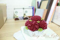 flower rice cake  앙금플라워 떡케익 - ROSY RICE CAKE 로지 라이스 케이크 -  http://blog.naver.com/rosyrice