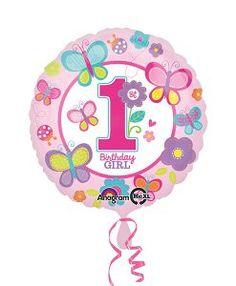 Doğum günü parti süslemeleri için Kız Doğum Günü 1 Yaş Pembe Folyo Balon ürünümüzü online olarak uygun fiyatlar ile satın alabilirsiniz
