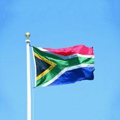 Soccer Nation Flag SOUTH AFRICA (3ft x 5ft, 150x90cm)
