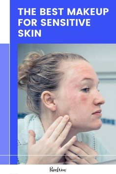 If you have sensitive skin or a skin condition like eczema or psoriasis, here are some tips and product recommendations for when you want to wear makeup. #makeup #skincare Natural Everyday Makeup, Natural Makeup Looks, Face Eczema, Best Lip Gloss, Beauty And The Best, How To Get Rid Of Pimples, Best Makeup Products, Beauty Products, Lip Plumper