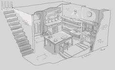 basic room by vixel3d.deviantart.com on @deviantART