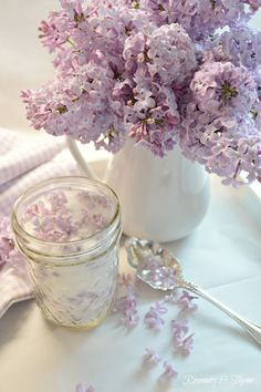 Love this idea Flower Power, Infused Sugar, All Things Purple, Violet, Food Design, Spring Flowers, Rose, Floral Arrangements, Tea Party