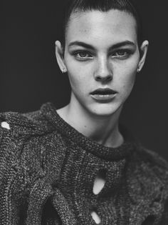 The Graduates: Vittoria Ceretti   models.com MDX.  Photography by Emma Tempest for Models.com.