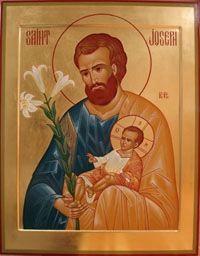 Texte - Icône de Saint-Joseph