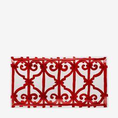 Balcon du Guadalquivir rectangular plate - P011024P