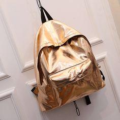 Holographic Metallic Backpack   #leopardprint #arty #giftideas #fashionpurse #leopardprintpurse