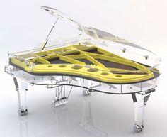 Full Crystal Grand Piano http://pinterest.com/cameronpiano
