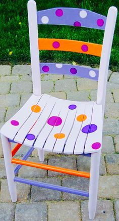 POLKA DOTS~Dotted chair