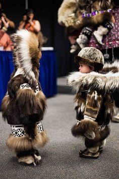 children at the 52nd annual world eskimo olympics, Fairbanks Alaska.