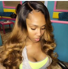 ..... Latest Hairstyles, Wedding Hairstyles, Hair Bundle Deals, Virgin Remy Hair, Ombre Hair Extensions, Purple Ombre, About Hair, Hair Dos, Dark Skin