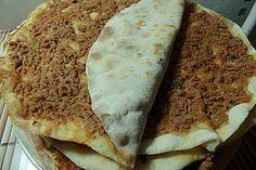 Türkische Pizza (Lahmacun)