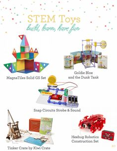 STEM toys your kids will love and they just might learn something. Part of our Ultimate Gift Guide