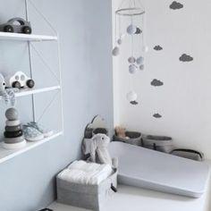 Nursery Inspiration, Spotlight, Shelving, Ikea, Baby Boy, Interior, Mini, Home Decor, Quartos