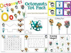Octonauts maze printable | Octonauts birthday party ...