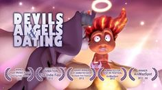 Devils Angels and Dating short Animation By Michael Cawood