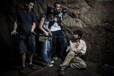 "#Backstage from ""il Prigioniero"" by Federico Peduzzi #stillphoto #shortfilm #Rome"