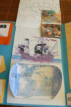 Orca: observar, recordar, crecer y aprender: Lapbook Piratas