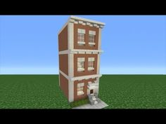 Minecraft Tutorial: How To Make A Town House - YouTube