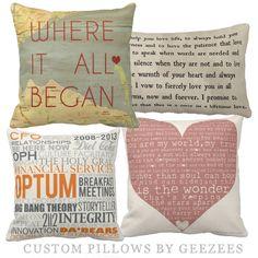 #map #home #decor   custom word art design pillow for home...a little expensive but cute...