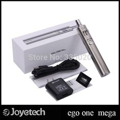 "Original Joyetech eGo One Mega Starter Kit 2600mah Battery 4.0ml eGo ONE Mega Atomizer  eGo ONE Mega Electronic Cigarette  Description	Upgrading to 2600mah large battery capacity and 4ml liquid capacity, eGo ONE Mega becomes more powerful and more durable. Adhering the concept of ""the one device for everyone"",  #Vaping http://vaper.ga/8b"