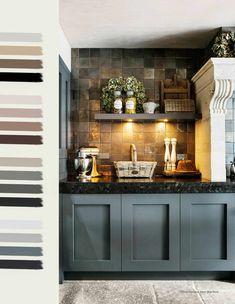living room ideas – New Ideas Kitchen Tiles, Kitchen Dining, Kitchen Decor, Kitchen Cabinets, Küchen Design, Beautiful Kitchens, Wabi Sabi, Kitchen Styling, Country Kitchen