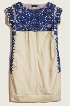 Madewell Embroidered Casita Dress #taste