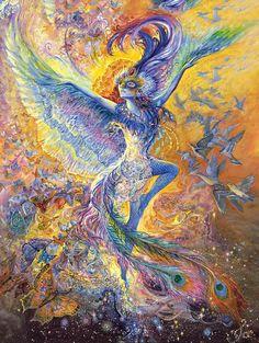Bluebird • Josephine Wall
