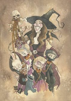 Art by Gris Grimly