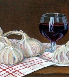 Garlic-and-wine