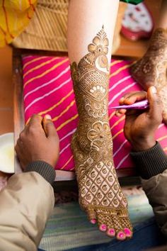 Mehendi Designs - Bridal Feet Mehendi | WedMeGood Beautiful Feet Mehendi with peacock design. #wedmegood #mehendi