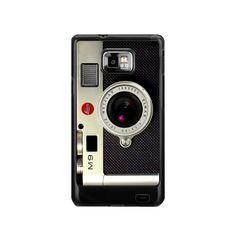 retro vintage silver leica m9 camera Samsung Galaxy s2 i9100 case US$ 16.50