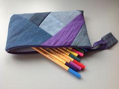 Pencil case / make-up bag. Make Up, Pencil, Bags, Fashion, Maquillaje, Handbags, Moda, Maquiagem, Dime Bags