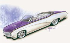 chip foose chevelle drawings