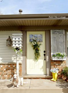 Junk Chic Cottage: Spring Awaking Garden