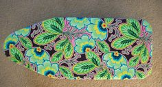 I recently recovered my small ironing board. It needed it pretty much since the day I got the board. The fabric was cheap and ugly to begin with, but as time went on, it got awful water stains, and...