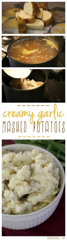 Creamy Garlic Mashed