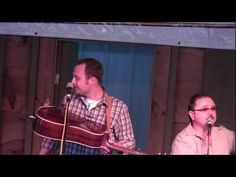 Bluegrass singing Bluebird from the Washington Post.  It's Josh Williams at the 2011 Doyle Lawson Bluegrass Festival with a bird sitting on his guitar chirping along.  (Starts at about 1:30 into the video)